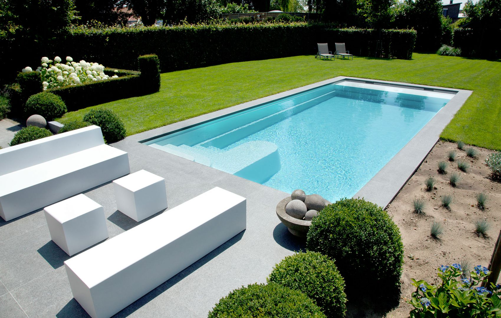 Monoblok keramische zwembaden lpw ceramic pools - Klein zwembad in de kleine tuin ...